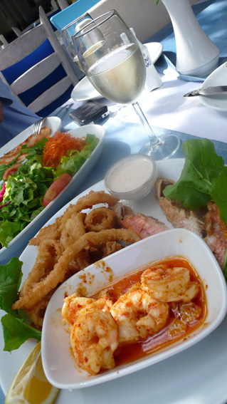 Traditional Turkish food in Kalkan, staying at private villa with stunning sea views319 x 567 jpeg 112kB